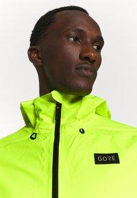 Gore Wear - ENDURE JACKET MENS - Hardshelljacke - neon yellow - 5