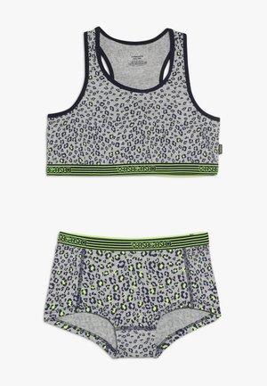 LEOPARDACID - Underwear set - grey mele