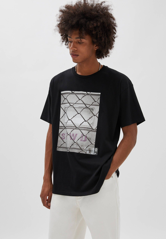 Herren MIT DRAHTZAUN - T-Shirt print