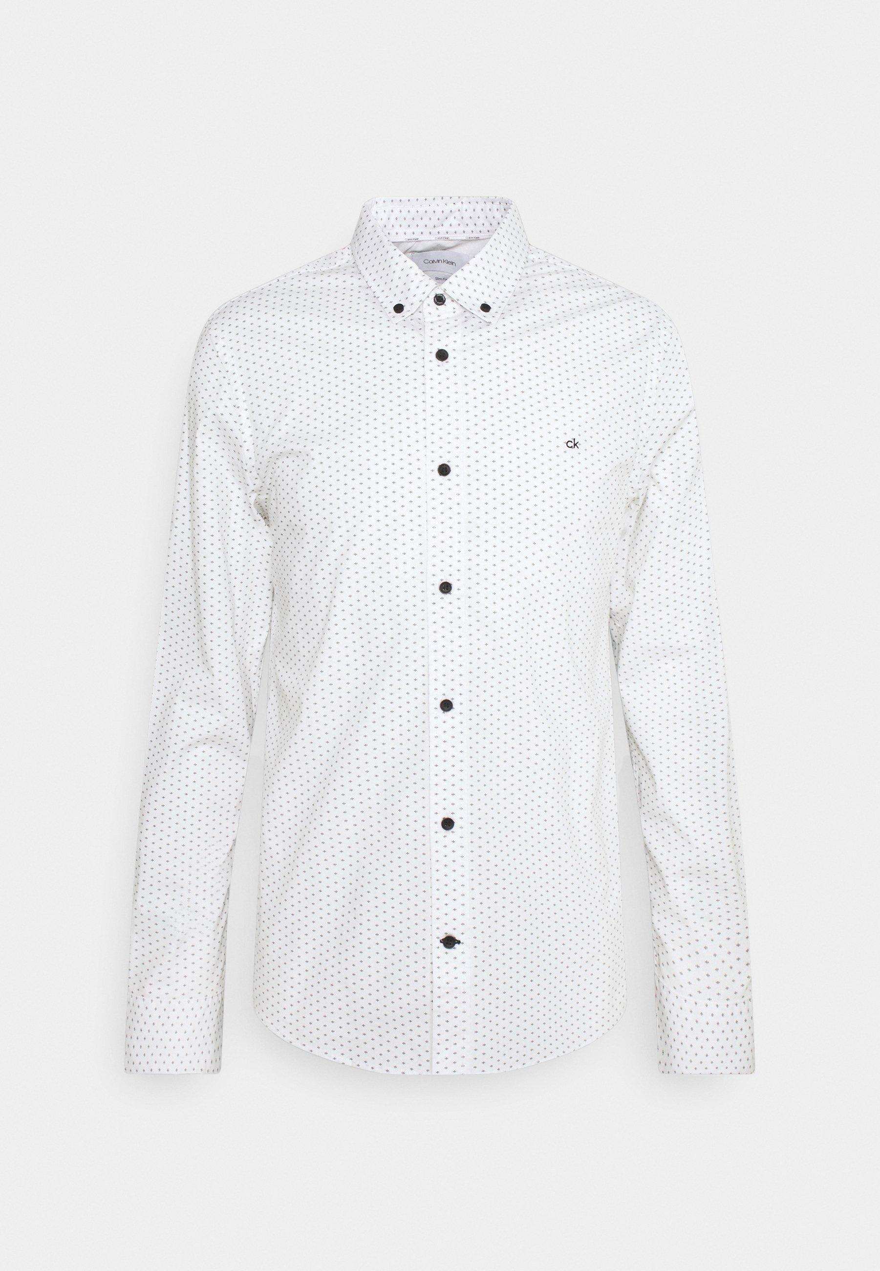 Men SLIM FIT STRETCH POPLIN MICRO - Shirt