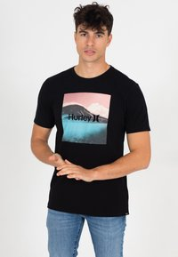 Hurley - EVD WSH BALI  - Print T-shirt - black - 0