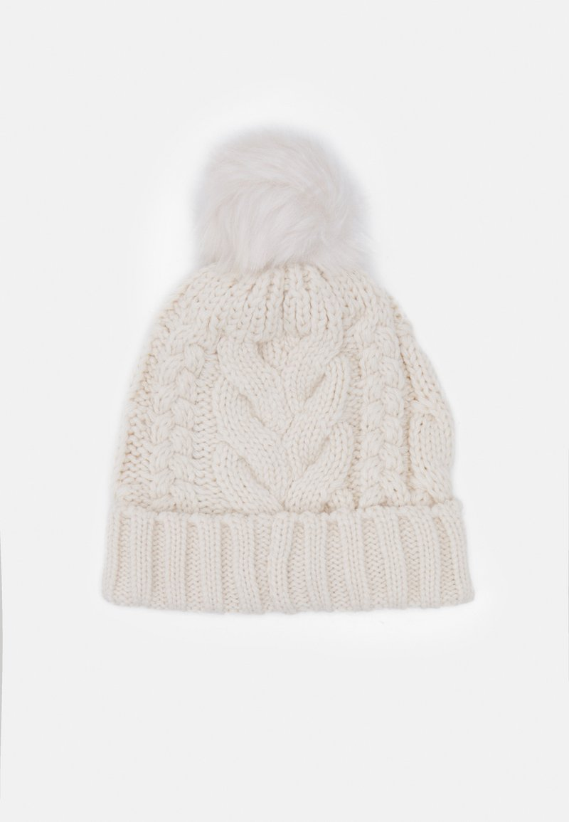 GAP - CABLE HAT - Beanie - soft ivory