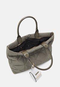 River Island - SET - Tote bag - khaki dark - 2