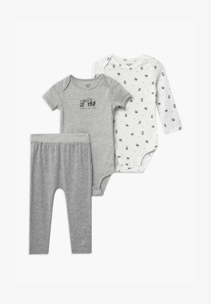 NEUTRAL SET - Trousers - gray