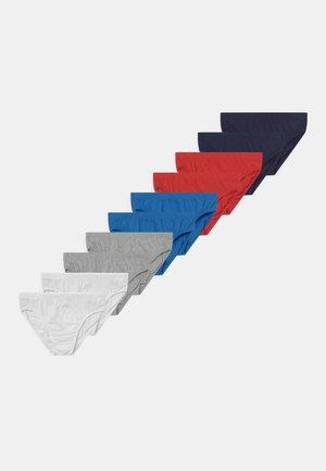 COLOUR BRIEFS 10 PACK - Briefs - red