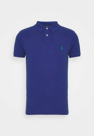 SLIM FIT MODEL - Polo - bright navy