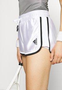 adidas Performance - CLUB SHORT - Krótkie spodenki sportowe - white - 5