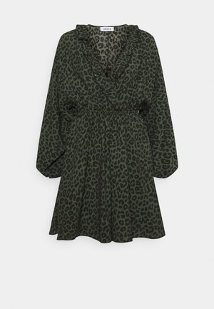 KATINKA DRESS - Day dress - black/green