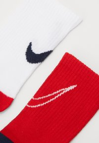 Nike Sportswear - TRACK GRIPPER 3 PACK - Ponožky - university red - 1
