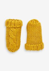Next - CABLE  SET - Gorro - yellow - 2