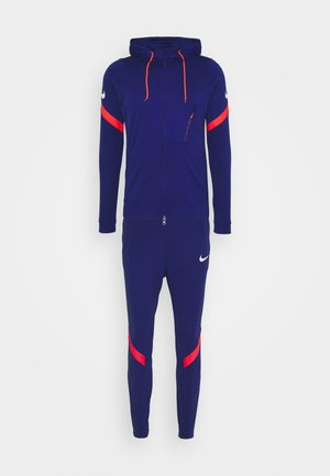 DRY STRIKE SUIT - Tracksuit - deep royal blue/white