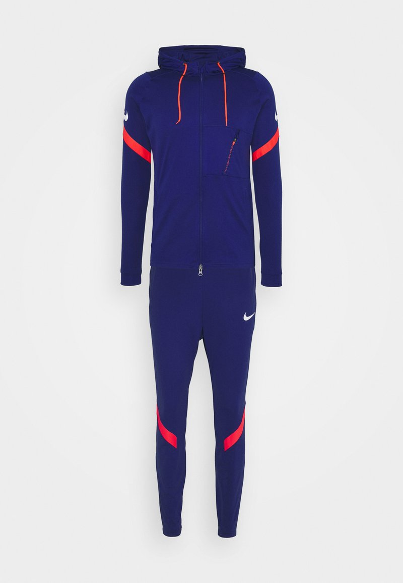 Nike Performance - DRY STRIKE SUIT - Tracksuit - deep royal blue/white