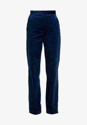 FLARED PANTS - Trousers - blue haze