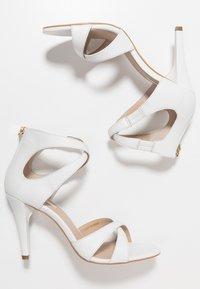 KIOMI - High heeled sandals - white - 3
