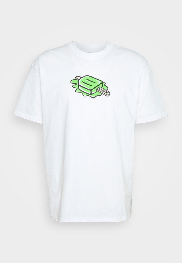 TEE POPSICLE UNISEX - T-shirts print - white