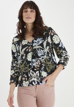 FRANSA - Blouse - navy blazer mix