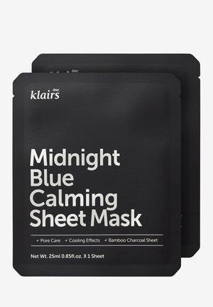 MIDNIGHT BLUE CALMING MASK 25ML 2 MASK PACK - Maschera viso - -
