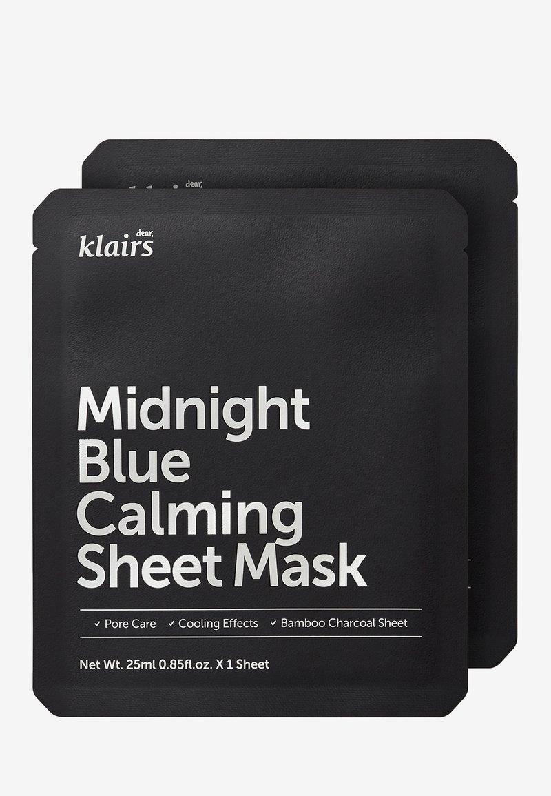 klairs - MIDNIGHT BLUE CALMING MASK 25ML 2 MASK PACK - Masker - -