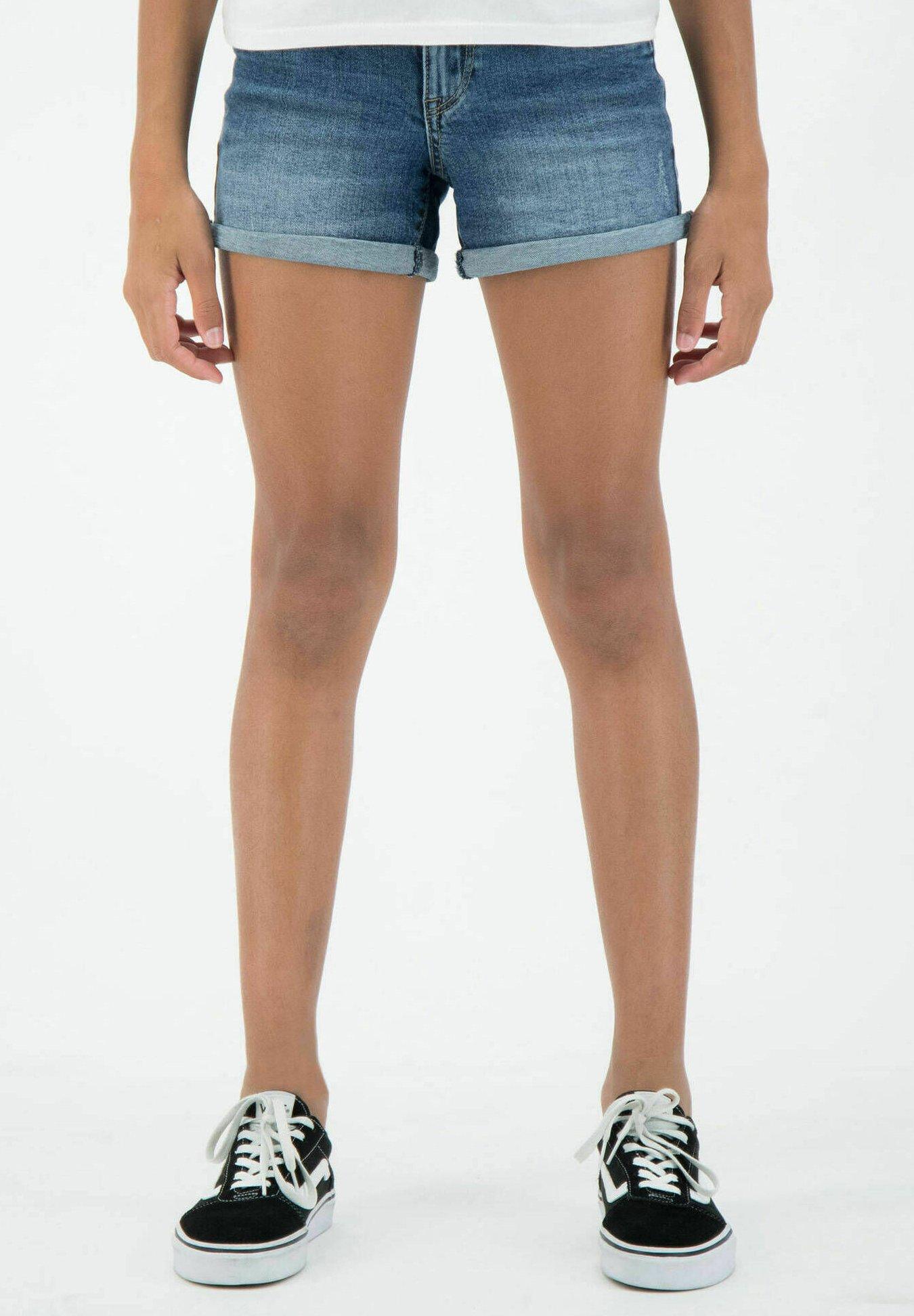Kinder SARA - Jeans Shorts - blue