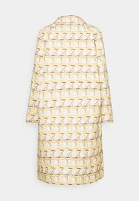 Tory Burch - EMBROIDERED PEACOAT - Classic coat - caning ivory/sunny day/classic caramel - 1