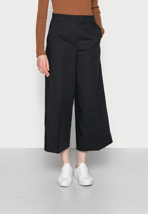 CULOTTES - Trousers - black