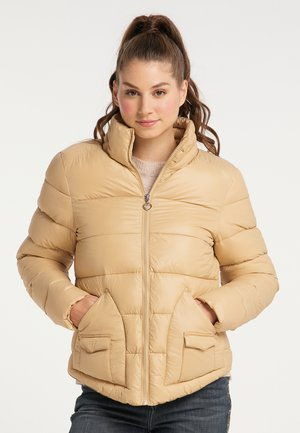 Zimní bunda - camel