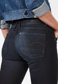G-Star - LYNN MID SKINNY  NEW  - Jeans Skinny Fit - dark blue - 1