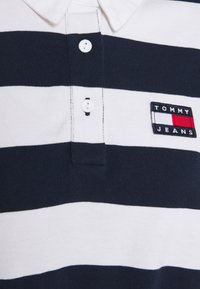 Tommy Jeans - STRIPED RUGBY - Polo - twilight navy - 5