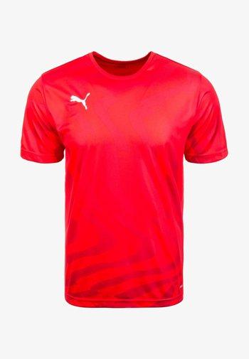 CUP CORE - Print T-shirt - puma red