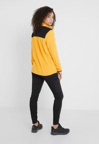 The North Face - GLACIER SNAP NECK  - Fleecetröja - yellow/black - 3