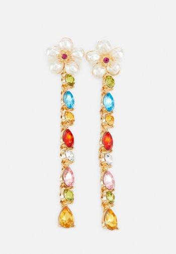 PCOLIVIA EARRINGS - Earrings - gold-coloured