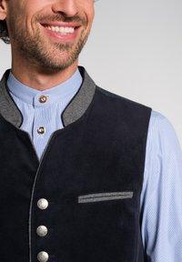 Spieth & Wensky - NAAB-WESTE H E - Waistcoat - dark blue - 2