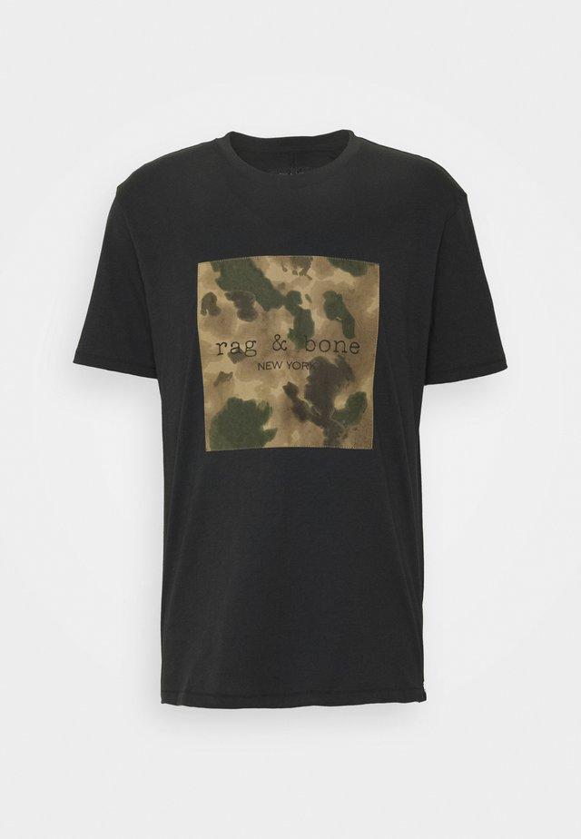 INK LOGO TEE - T-shirt imprimé - black
