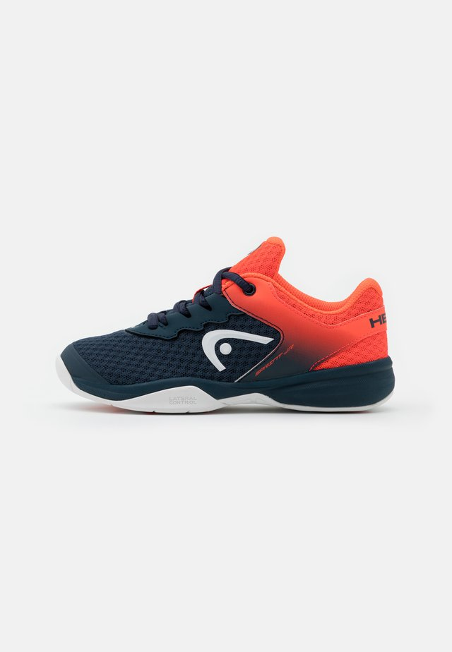 SPRINT 2.5 CARPET JUNIOR UNISEX - Scarpe da tennis per tutte le superfici - navy