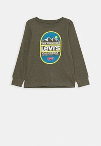 Levi's® - GRAPHIC - Top s dlouhým rukávem - olive night heather - 0