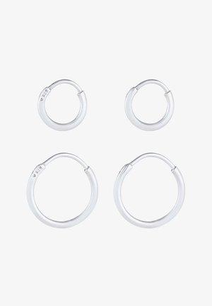 2ER SET - Earrings - silber