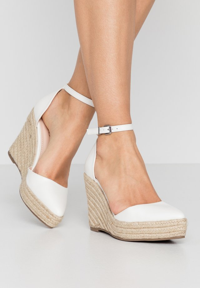 FYNN - Zapatos altos - white