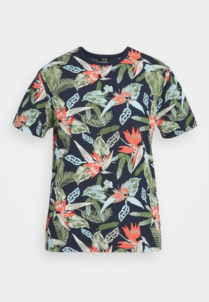 ONSKLOP LIFE TEE - Print T-shirt - dress blues