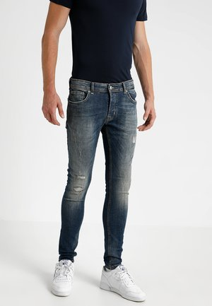 EGO BLAIDD - Slim fit jeans - blue denim
