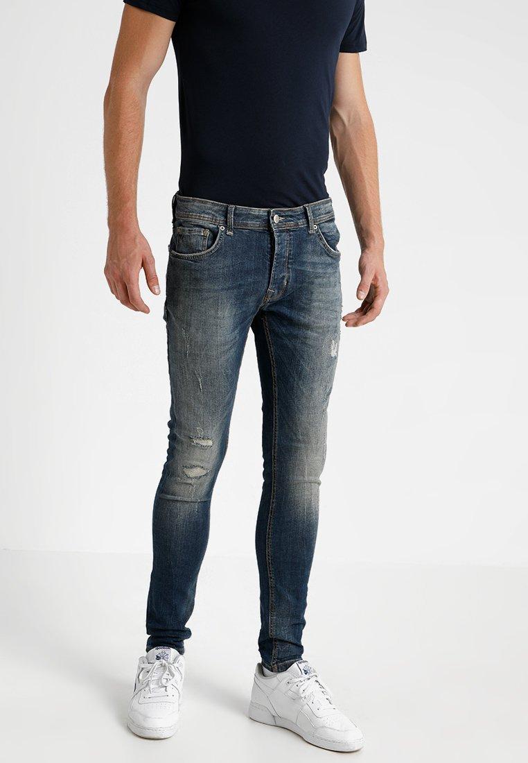 CHASIN' - EGO BLAIDD - Slim fit jeans - blue denim