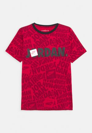 JUMPMAN BY SPLASH TEE UNISEX - Triko s potiskem - gym red