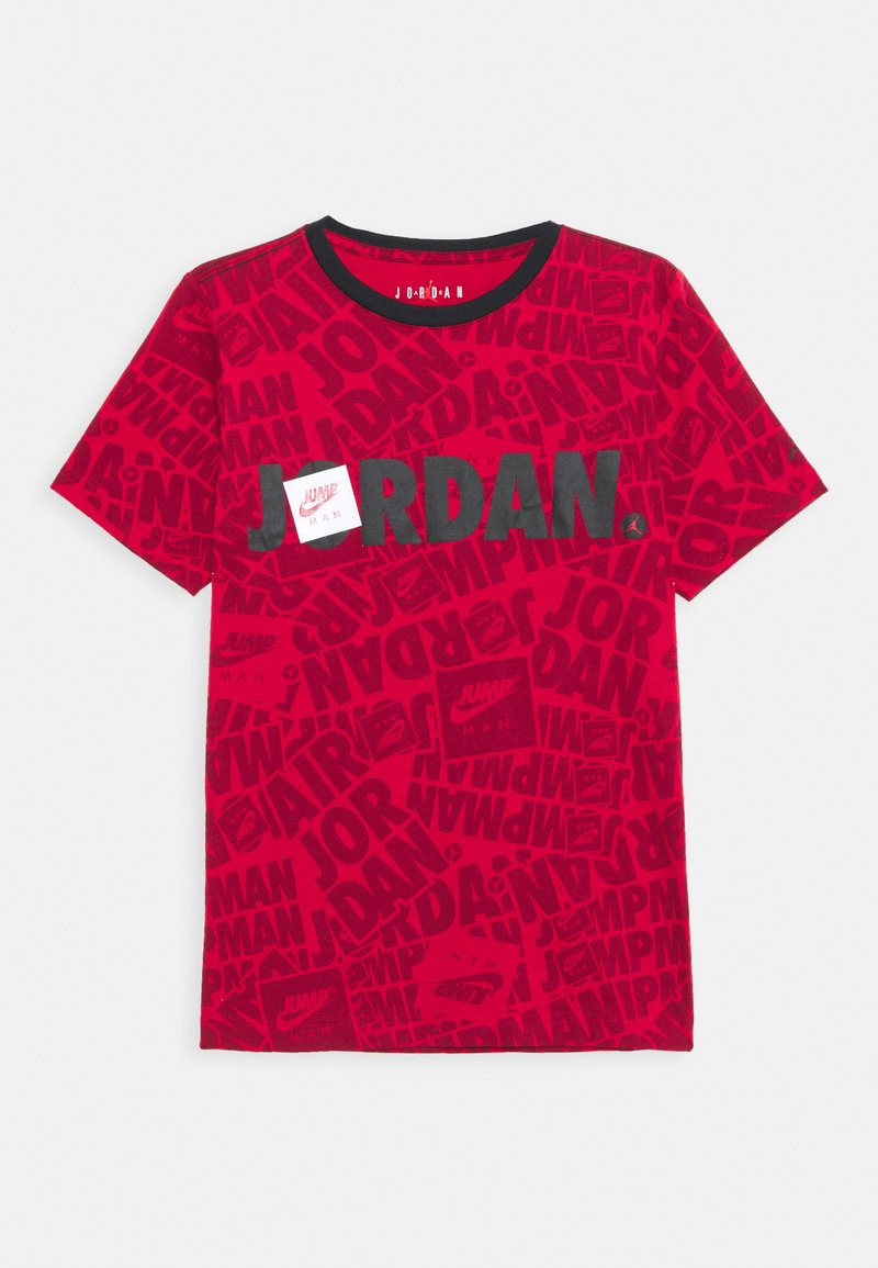 Jordan - JUMPMAN BY SPLASH TEE UNISEX - Print T-shirt - gym red