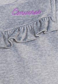 Converse - SET - Pantalones deportivos - dark grey heather - 3