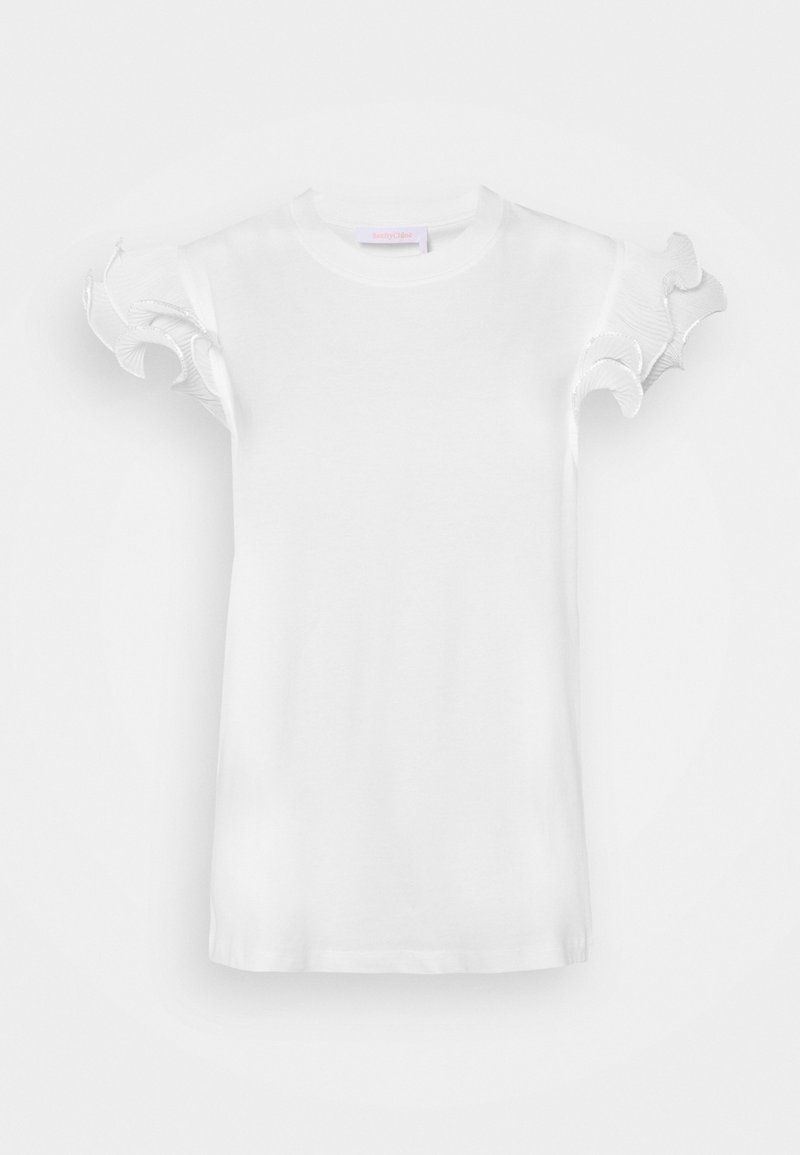 See by Chloé - T-shirt imprimé - white powder