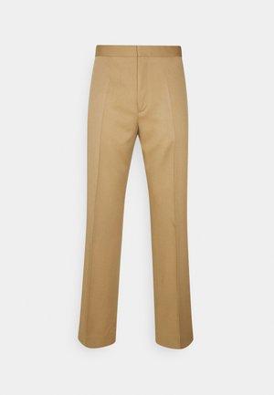 ZEUS - Trousers - camel