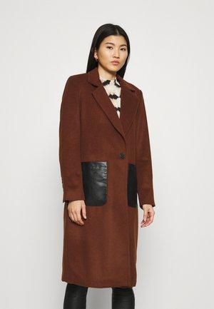 COAT - Classic coat - dark tan