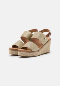 XTI - High heeled sandals - gold - 2