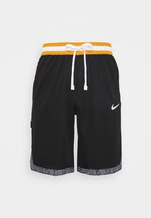 DRY DNA SHORT - Short de sport - black/chutney/white