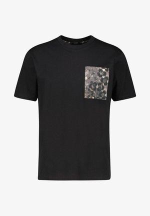 """TPOKET"" - Print T-shirt - schwarz"
