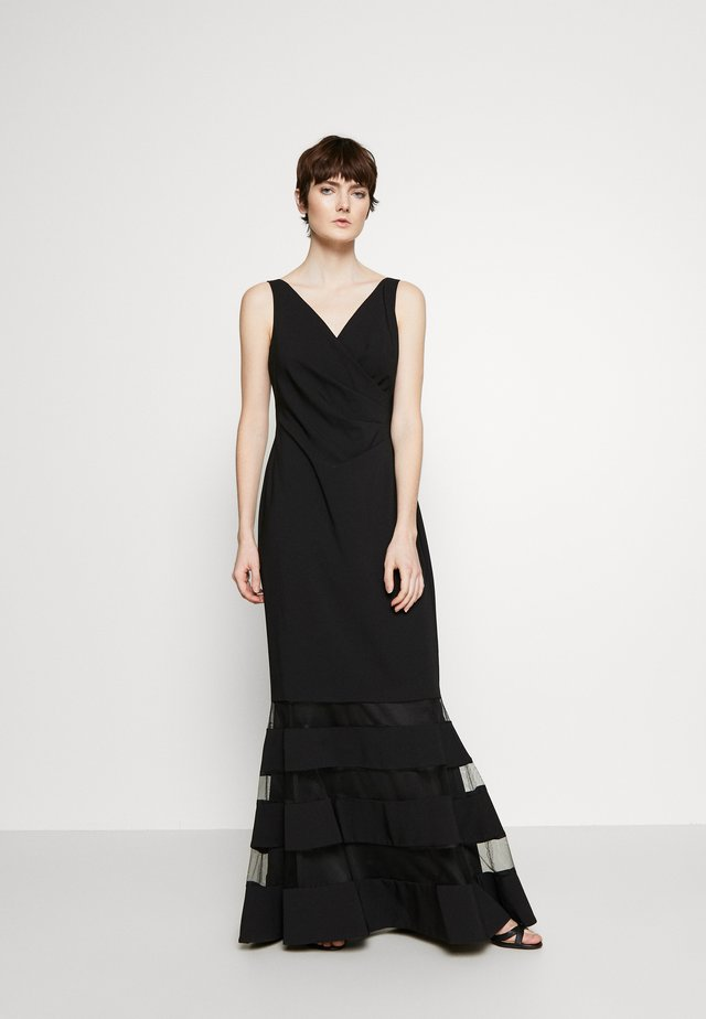 LONG GOWN COMBO - Iltapuku - black